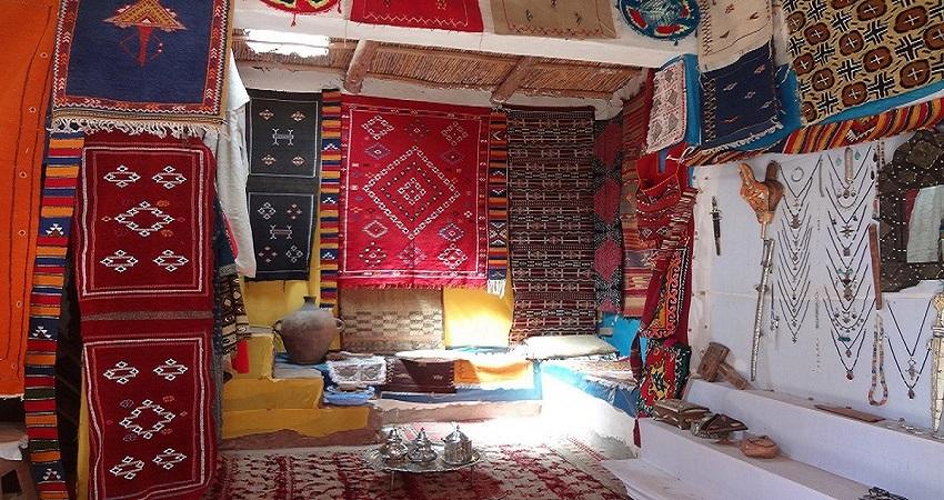 la historia de las alfombras marroquies