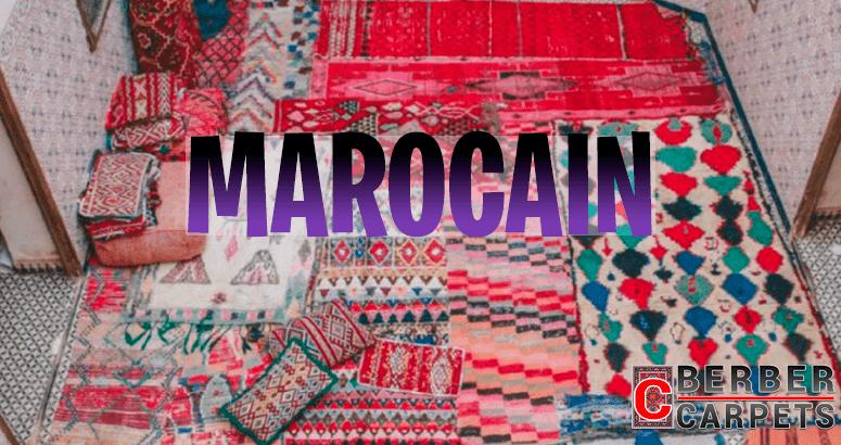 Tapis Morocaine